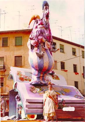 Monumento Falla Mayor 1982 - Lema: La noche y los sueños - Autor: Santiago Rubio