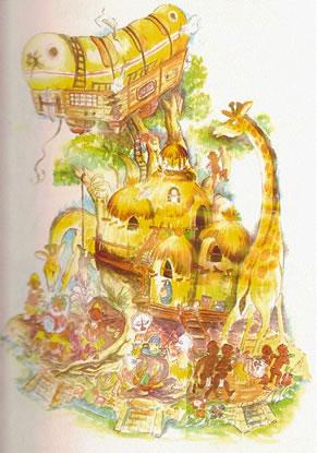 Boceto Falla Infantil 1991 - Lema: XXXX - Autor: Pedro M. Gutierrez
