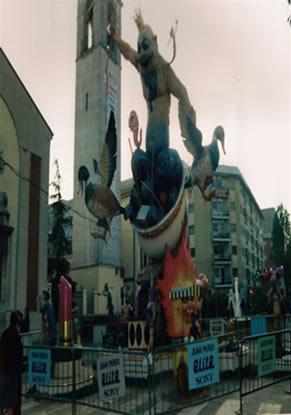 Monumento Falla Mayor 1992 - Lema: Lo que contamina - Autor: Manuel Martínez Moya