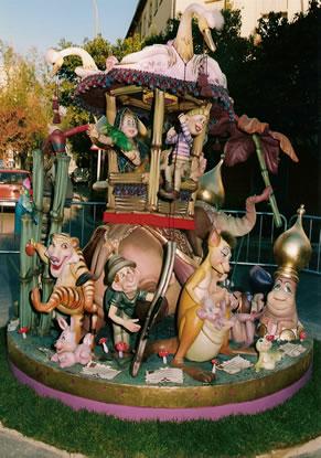 Monumento Falla Infantil 1998 - Lema: Viaje a la India - Autor: Bernardo Estela Parra