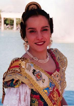 Mª JESUS FRESNEDA PALOP - Fallera Mayor 2000