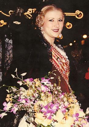 ANA PALOMERO CARRILLO - Fallera Mayor 2001
