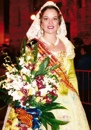 REBECA MUÑOZ VEGA - Fallera Mayor 2003