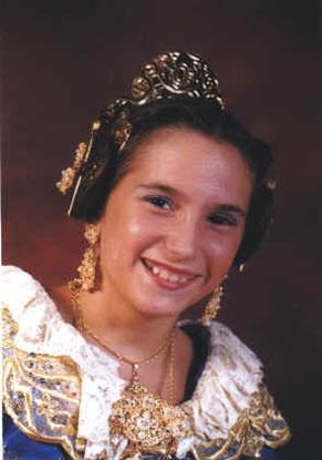 ALBA MARIN VIÑAS - Fallera Mayor Infantil 2004