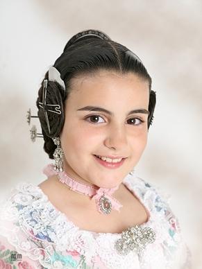 LUCIA NAVARRO ATIENZA - Fallera Mayor Infantil 2015