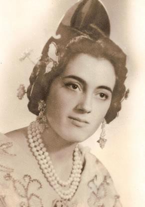 Mª ROSA MICO BOIX - Fallera Mayor 1963