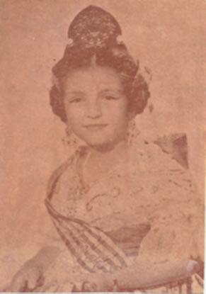 AMPARO TAMBORERO - Fallera Mayor Infantil 1964