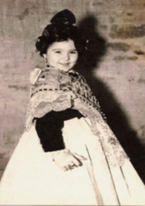 Mª ISABEL BAUTISTA ROCA - Fallera Mayor Infantil 1966
