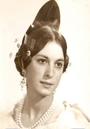 Mª CARMEN CASTILLO ALVAREZ - Fallera Mayor 1967