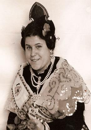 ROSA ALGARRA AVIÑO - Fallera Mayor 1971