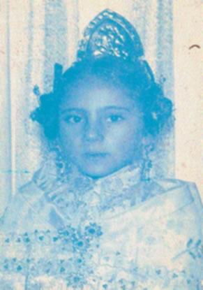 NOMBRE APELLIDO APELLIDO - Fallera Mayor Infantil 1977