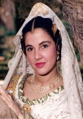 Mª LUISA BAUTISTA ROCA - Fallera Mayor 1983