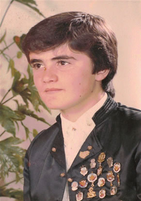 FRANCISCO MANUEL MORENETE CASANOVA - Presidente Infantil 1983