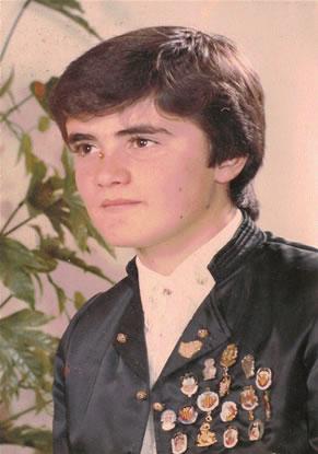 FCO. MANUEL MORENETE CASANOVA - Presidente Infantil 1984