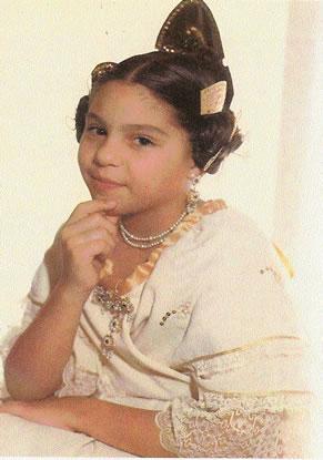 INMACULADA GADEA SENDRA - Fallera Mayor Infantil 1985