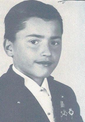 JOAQUIN JOSE MARTINEZ MARTIN - Presidente Infantil 1986
