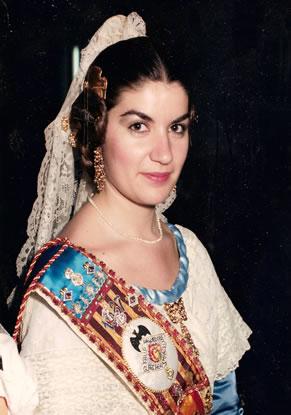 INES DE LA TORRE SOLER - Fallera Mayor 1987