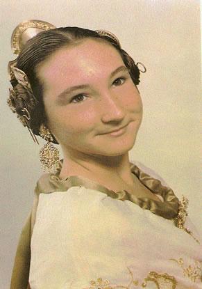 SILVIA GRAMAJE MARTINEZ - Fallera Mayor Infantil 1990