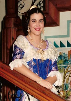 SILVIA ATIENZA MORA - Fallera Mayor 1991