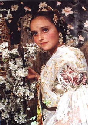 MARIA TORRAS GIMENO - Fallera Mayor Infantil 1992