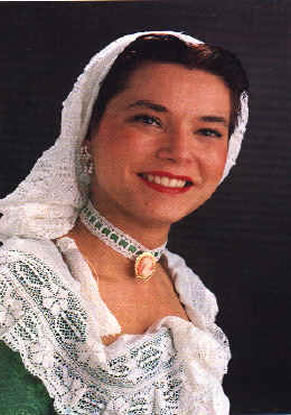 SILVIA VIVES MAS - Fallera Mayor 1992