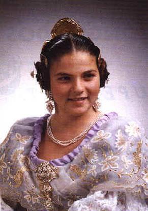ESMERALDA TORREGROSA ARACIL - Fallera Mayor Infantil 1993