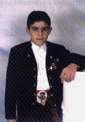 EUSEBIO GARCIA MEMBRILLAS - Presidente Infantil 1993