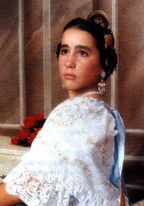 VANESSA GUILLEM ROMERO - Fallera Mayor Infantil 1994