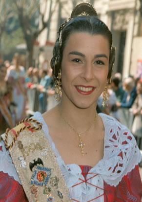 AMPARO PALOP MARTINEZ - Fallera Mayor 1994