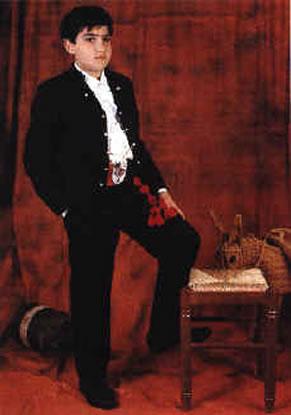 JOSE MANUEL FITO PALOP - Presidente Infantil 1994