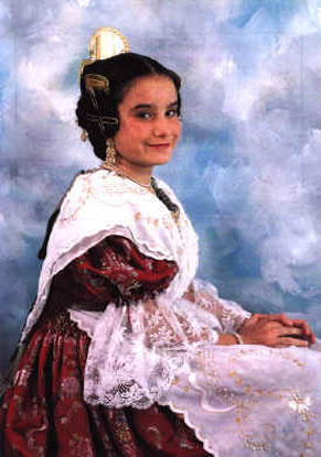 MARIA ALBERT CASAÑAS - Fallera Mayor Infantil 1995