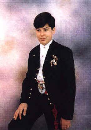 FRANCISCO DE LOS GALANES GIMENEZ ROYO - Presidente Infantil 1995