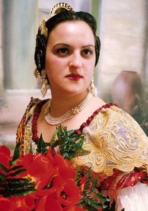 ANA MARIA FITO PALOP - Fallera Mayor 1997