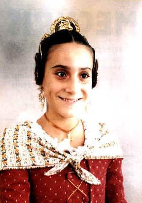 TANIA DEL CASTILLO LAZARO - Fallera Mayor Infantil 1998