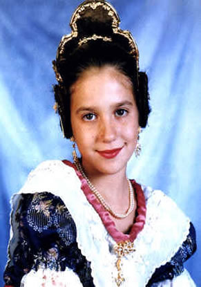 ESTHER ESPINOSA JESUS - Fallera Mayor Infantil 1999