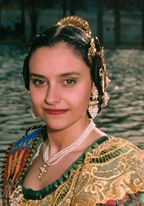 MARIA TORRAS GIMENO - Fallera Mayor 1999