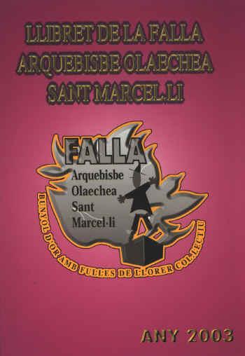 FALLAS 2003 (Pincha para ampliar información)
