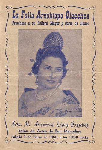 FALLAS 1960 (Pincha para ampliar información)