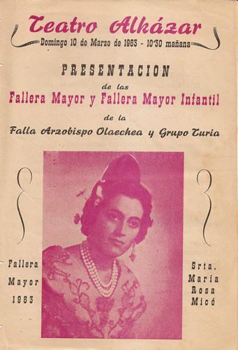 FALLAS 1963 (Pincha para ampliar información)