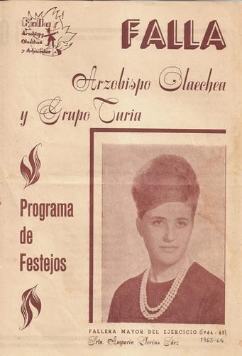 FALLAS 1964 (Pincha para ampliar información)