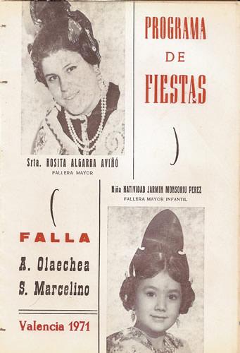 FALLAS 1971 (Pincha para ampliar información)