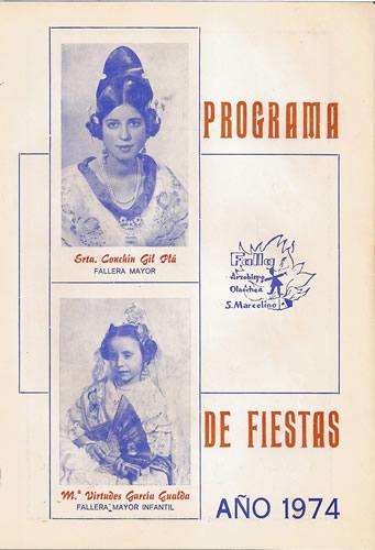 FALLAS 1974 (Pincha para ampliar información)