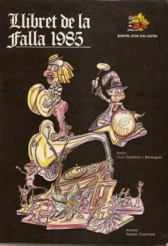 FALLAS 1985 (Pincha para ampliar información)