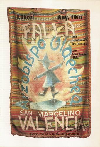 Llibret 1991 Falla Arquebisbe Olaechea - Sant Marcel.lí