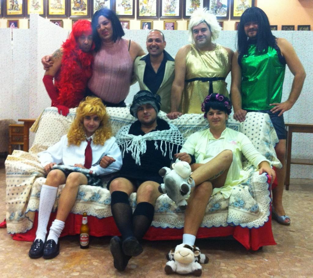 Cuadro de Elegidos para la actuación de la Agrupación Cruz Cubierta 2011