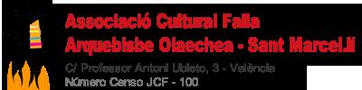 Falla Arquebisbe Olaechea – Sant Marcel.lí (Valencia)